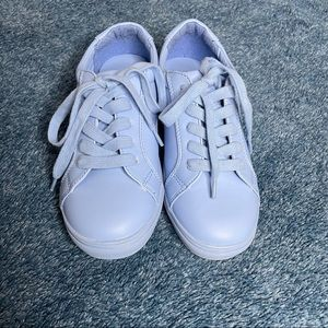 Harlow baby blue casual shoes